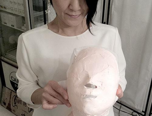 パカっととった瞬間の気持ち良さー石膏マスク