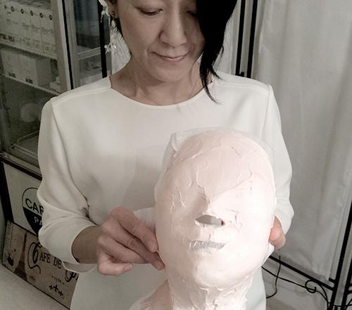 石膏マスク